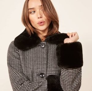 ISO Reformation Lucille Coat
